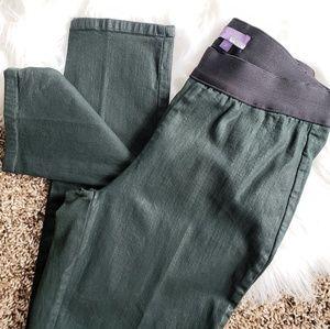 NYDJ Alpine Green Gia Pull On Coated Legging